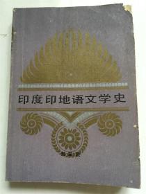 印度印地语文学史 /刘安武 著