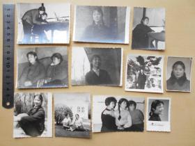 老照片【70年代,美女照片11张】有大辫子