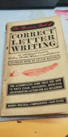 THE BANTAM BOOK OF CORRECT LETTER WRITING