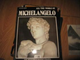 A48281《ALL THE WORKS OF MICHELANGELO》 翻译:所有的作品,米开朗基罗