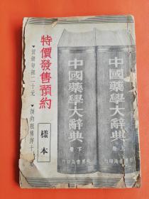中国药学大辞典(特价发售预约)样本