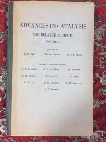 催化作用的进展  第17卷