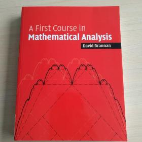 A First Course in Mathematical Analysis[數學分析入門教程]
