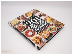 201 Recipes youll make forever 家庭烹饪201式 英文西餐食谱