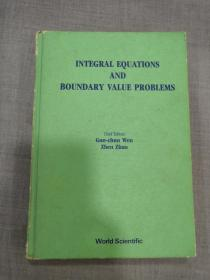 INTEGRAL  EQUATIONS AND BOUNDARY VALUE PROELEMS..