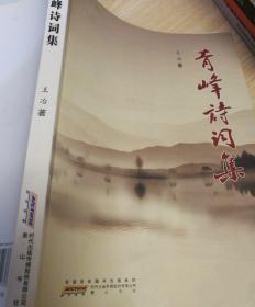 青峰诗词集(收录作者王冶撰写的各类诗词270多首)安徽本土诗词集含多幅历史图片