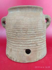 高古陶器 ,有说是烧水炊具的,火与土的图腾