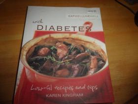 EAT WELL LIvE wELL     DIABETES-外文原版--糖尿病?菜谱--见图自定