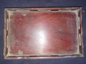 清代红木托盘