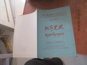 全国少数民族文艺会演大会七场传统藏戏(郎莎雯波)节自单