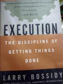 !正版!Execution:The Discipline of Getting Things Done9780609610572