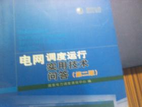 电网调度运行 实用技术问答 第二版