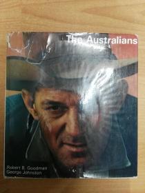 The Australians(20开精装 英文版)护封有破损,如图。