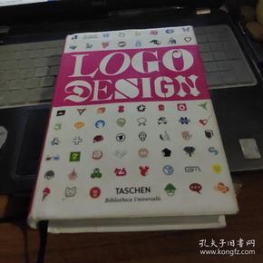 LOGO design【32开硬精装原版铜版彩印】