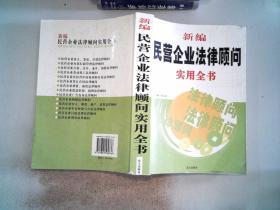 新编民营企业法律顾问实用全书