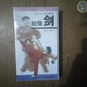 录像带 武术入门系列教程 初级剑 示范 李惠