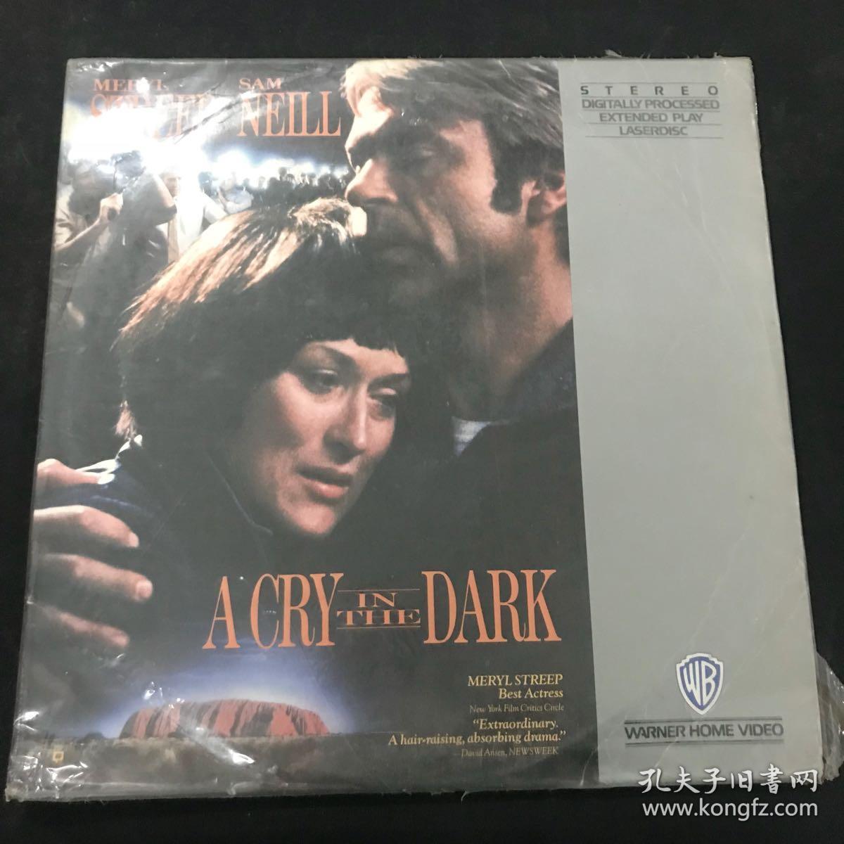 镭射影碟 A CRY IN THEDARK 内含两张镭射影碟