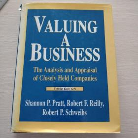 Valuing a Business:The Analysis and Appraisal of Closely HeldCompanies