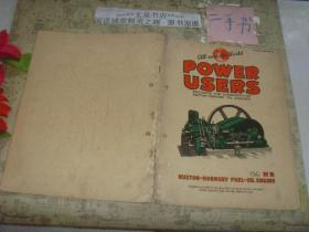 1912年英国RUSTON-HORNSBY产品说明书》50521-34第5页缺失,有钉孔侧封破损32页