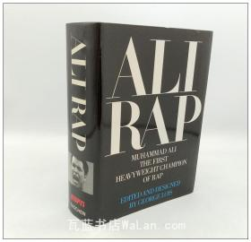 嘻哈先驱拳王阿里 Ali Rap: Muhammad Ali the First Heavyweight Champion of Rap 英文原版