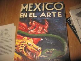 1948年MEXICO  EN EL  ARTE1-2两本合售