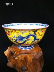 绝版老货 民国仿明代青花瓷碗 景德镇老瓷器(包老)古玩收藏摆PO