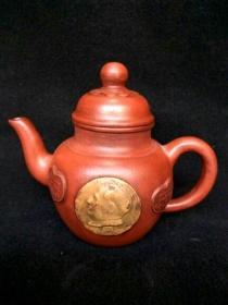收藏多年的文革紫砂壶古玩p