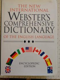 The New International Websters Comprehensive Dictionary of The English Language Encyclopedic Edition