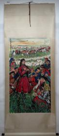 清风阁画廊-著名书画家-黄胄-人物(纯手绘)-立轴-3020