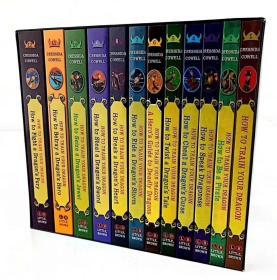 鐩掕 濂楄涔� 銆奌ow to Train Your Dragon Complete Series銆�12鍐屽瑁� 濡備綍璁粌浣犵殑榫欑郴鍒�