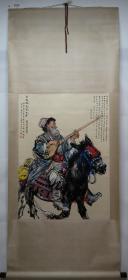清风阁画廊-著名书画家-黄胄-人物(纯手绘)-立轴-3024