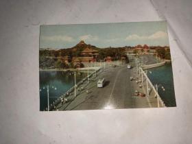 1973年年历片 团城和景山 天津人民美术出版社