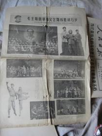 旧报纸 . 1976年5月27日  辽宁日报  毛主席的革命文艺路线胜利万岁