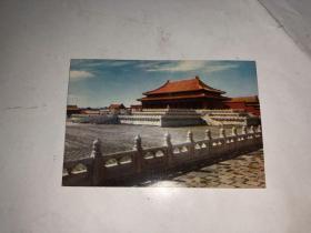 1973年年历片 故宫太和殿 天津人民美术出版社