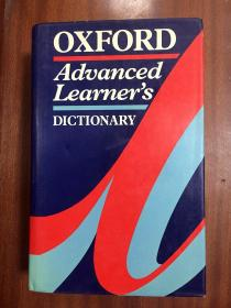 英国进口辞典  硬精装 牛津高阶英语词典  第4版 Oxford Advanced Learner\s Dictionary of Current English