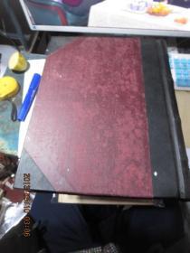 民国旧书2086-27    做假必备,民国精装本空白抄写本巨厚一册