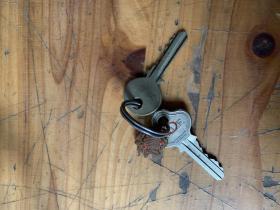 3146:民国时期的钥匙1939TRADEMARK  t.h.l.f.两把