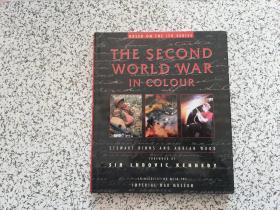 英文原版: The Second World War in Colour   精装本