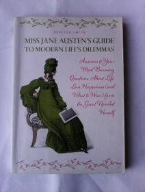 Miss Jane Austen's Guide to Modern Life's Dilemmas      英文原版   铜版纸印刷