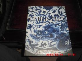 christies 香港佳士得 2001年10月30日 重要中国瓷器及艺术精品拍卖图录 瓷器玉器漆器 important chinese art
