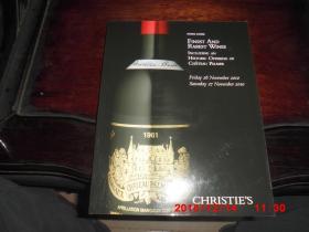 CHRISTIES佳士得 2010拍卖会-----finest and rarest wines最稀有的葡萄酒.包括帕莫酒庄
