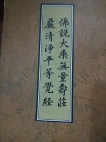 佛说大乘无量寿庄严清净平等觉经(大字竖版)