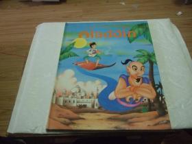英文原版绘本 Aladdin