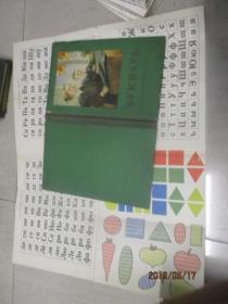 俄文课本  1955   含一张俄文卡片  详情如图     实物图    品自定    精装16开   30-5