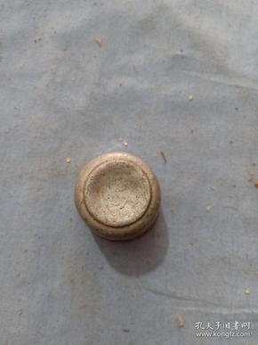 (箱7)民国 铝制 钟牌 老虎标 盖,尺寸4*4cm