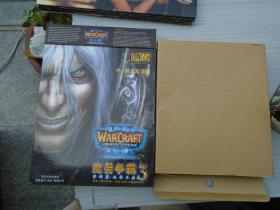 中/英文双语版 魔兽争霸3 资料篇:冰封王座:说明书一本+游戏安装指南1本+原包装盒。注意无光盘。详见书影