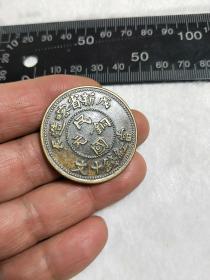 黄铜币,新省喀造币,尺寸看图,其他请自荐..