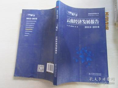云南经济发展报告(2015-2016)/云南蓝皮书