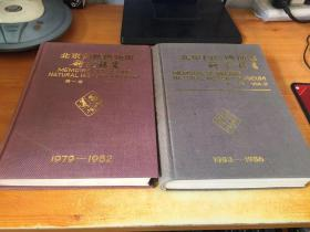 北京自然博物馆研究报告(16开精装合订本,第一卷1979--1982,第二卷1983-1986) 第二卷签赠本(2本合售)