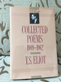 Collected poems 1909-1962 by T.S.Eliot 艾略特诗集 - 精装大开本